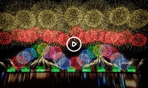 大型庆典焰火
